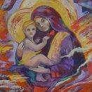 akryl - Madonna s anjelmi