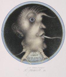 Vladimír Gažovič - Ex Libris Luc