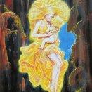 akryl - O Zlatovláske