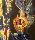 akryl - O krásnej Uljane 1