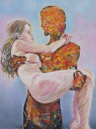 Sladký život 2 - maľba