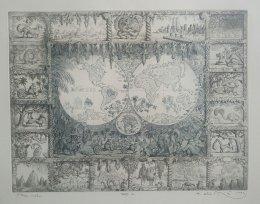 Peter Kľúčik - Mapa sveta