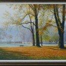 Jesenné ráno v Strážkach