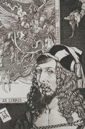 Dušan Polakovič - Ex Libris Herman Wiese