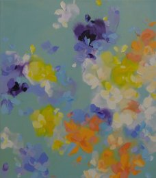 July Haluzova - Light petrol blue