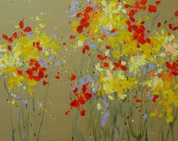July Haluzova - Spring meadow
