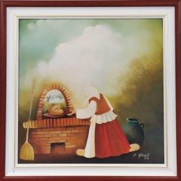 Kovačica - Ján Glozík - Pečennie chleba