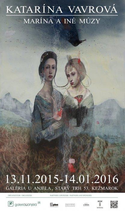 Katarína Vavrová - Marína a iné múzy (13. 11. 2015 - 14. 01. 2016)