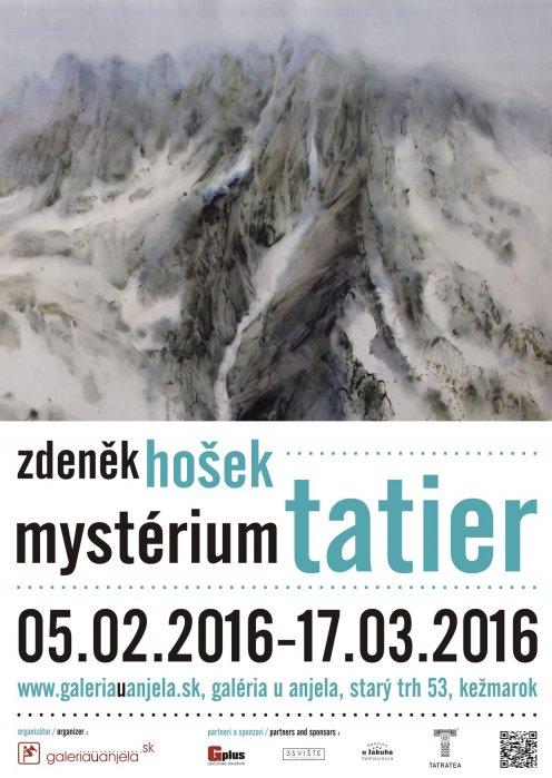 Zdeněk Hošek - Mystérium Tatier (05. 02. 2016 - 17. 03. 2016)