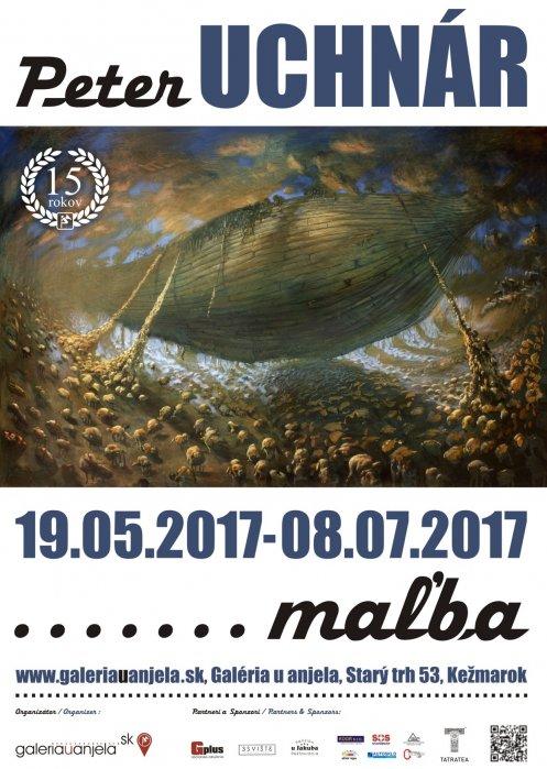 Peter Uchnár - maľba (19. 05. 2017 - 10. 07. 2017)