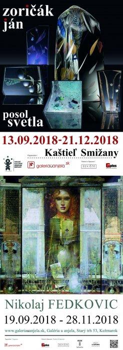Ján Zoričák - Posol svetla (13. 09. 2018 - 21. 12. 2018)