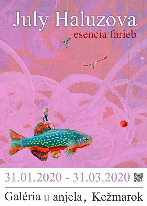 July Haluzová - Esencia farieb (31. 01. 2020 - 14. 04. 2020)