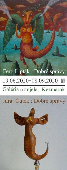 Juraj Čutek : Dobré správy : Fero Lipták (19. 06. 2020 - 08. 09. 2020)