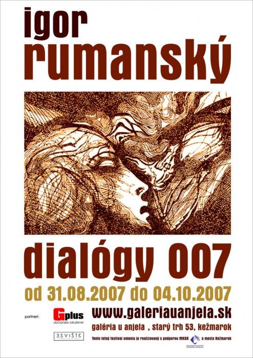 Igor Rumanský - Dialógy_007 (31. 08. 2007 - 04. 10. 2007)