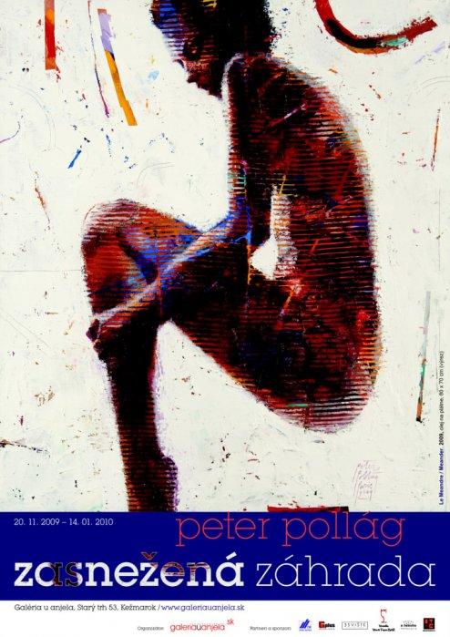 Peter Pollág - Zasnežená záhrada (20. 11. 2009 - 14. 01. 2010)