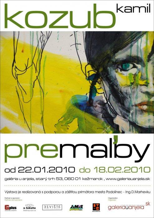 Kamil Kozub - Premaľby (22. 01. 2010 - 18. 02. 2010)