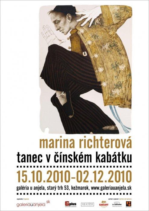 Marina Richterová - Tanec v čínskom kabátiku (15. 10. 2010 - 02. 12. 2010)