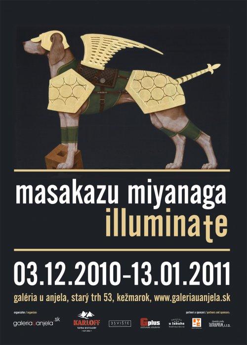 Masakazu Miyanaga - ILLUMINATE (03. 12. 2010 - 13. 01. 2011)