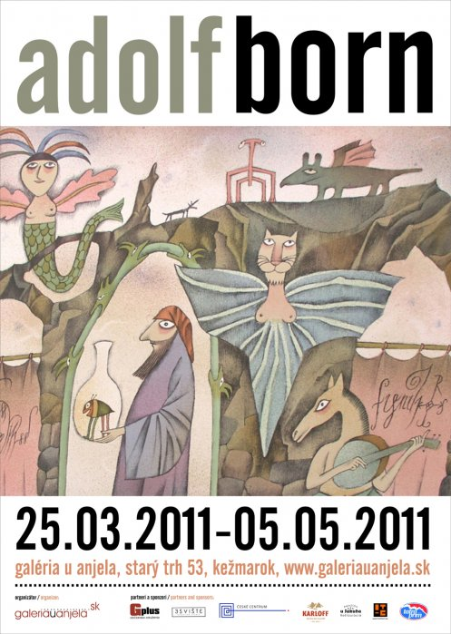 Adolf Born (25. 03. 2011 - 05. 05. 2011)
