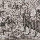 Kalendár-slon s leopardom